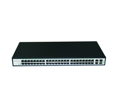 48-Port 10/100Mbps + 2-Port Gigabit Combo Switch